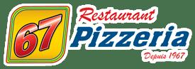 Restaurant Pizzéria 67 Logo