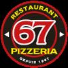 Restaurant Pizzeria 67 Logo